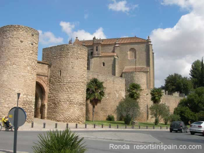 Ronda City Walls & Gates Map, description - photographs ...