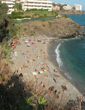 Photograph of Benalnatura Nudist beach - Playa nudista